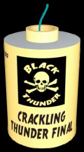 VUURWERK BLACK THUNDER